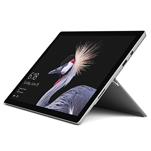 Microsoft Surface Pro 2017 - Tablet (31.2 cm (12.3'), 2736 x 1824 Pixeles, 128 GB, 4 GB, Windows 10 Pro, Negro, Plata)