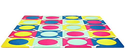 Skip Hop 242026 Playspot Foam Floor Tiles, Multi-Mix