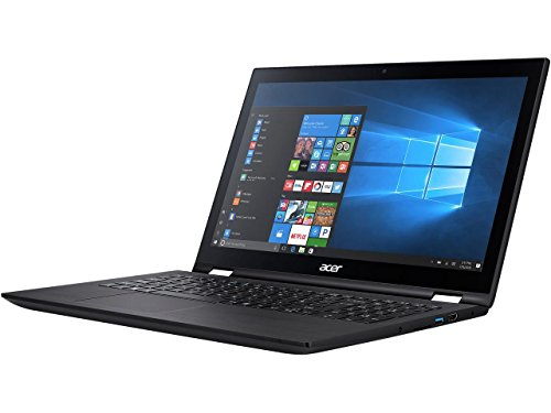 Acer Spin 3 SP315-51-54MW Intel Core i5 6th Gen 6200U (2.30 GHz) 8 GB Memory 256 GB SSD 15.6' Touchscreen 1920 x 1080 2-in-1 Laptop Windows 10 Home 64-Bit