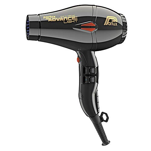 Parlux Advance Light Ionic and Ceramic Hair Dryer - BLACK