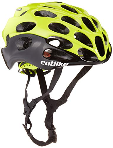 Catlike Mixino SV Bike Helmet, Black/Red, Large