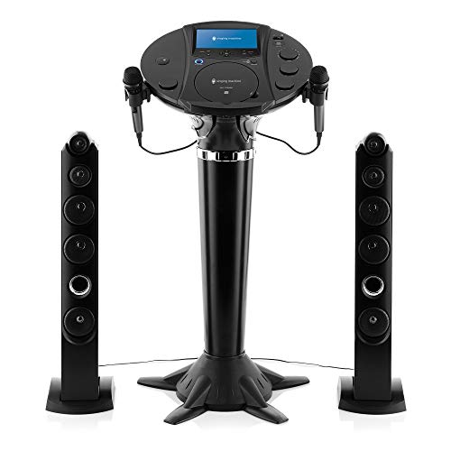 Singing Machine iSM1030BT - Pedestal Bluetooth para karaoke