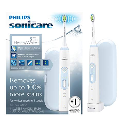 Philips Sonicare Iridescent HX8911/99 HealthyWhite + Electric Toothbrush