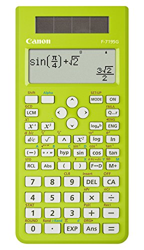 Canon F-719SG - Calculadora (Desktop, Scientific, Green, Buttons, 96 x 32, LCD)