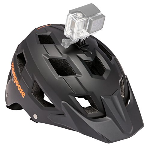 Mongoose Capture Helmet with Go Pro Camera Mount, Black