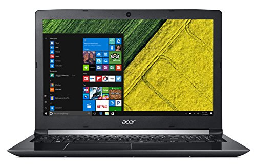 Acer Aspire 5, 15.6' Full HD, 8ª generación Intel Core, Únicamente Laptop, Negro obsidiana, 39.62cm (15.6'')