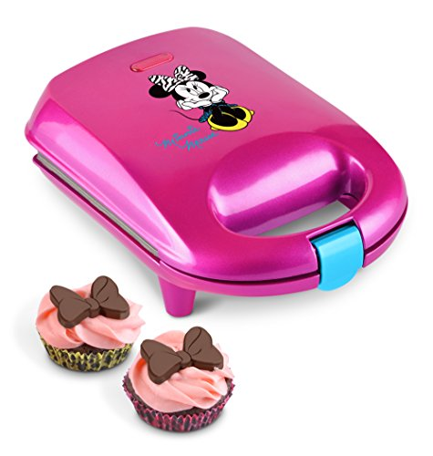 Disney Minnie Mouse dmg-7 Horneador de pastelitos, Mini, color rosa