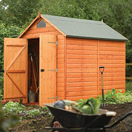 Rowlinson A053 Secure Storage Shed, 8' by 6'