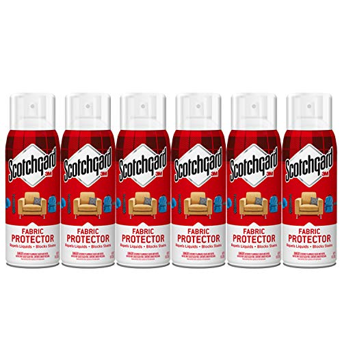 Scotchgard Fabric & Upholstery Protector, 6 Cans/10-Ounces (60 Ounces Total)