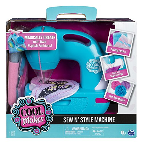 Cool Maker - Sew N' Style Sewing Machine with Pom Pom Maker Attachment