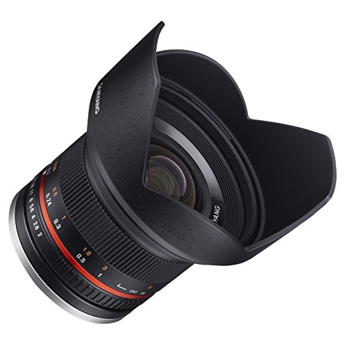 Samyang SY12M-FX-BK 12mm F2.0 Ultra Wide Angle Lens for Fujifilm X-Mount Cameras, Black