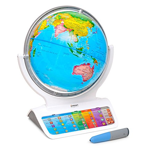 Smart Globe SmartGlobe Infinity sg318 – Interactivo con inalámbrico Smart Pen por Oregon Scientific